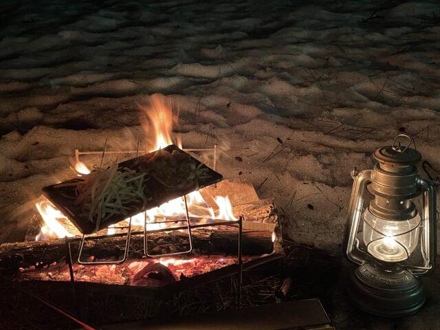 初の雪中キャンプ (11)