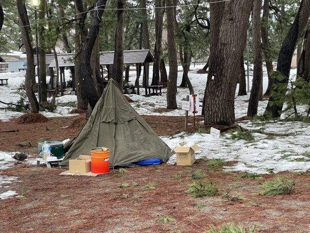 初の雪中キャンプ (24)