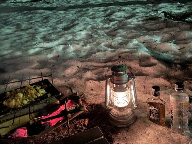 初の雪中キャンプ (16)