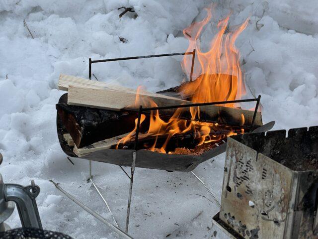 2回目の雪中キャンプ (11)