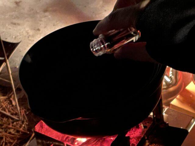 土鍋ですき焼き (10)