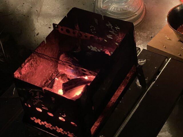 土鍋ですき焼き (7)