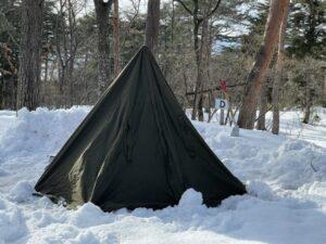 2回目の雪中キャンプ (4)