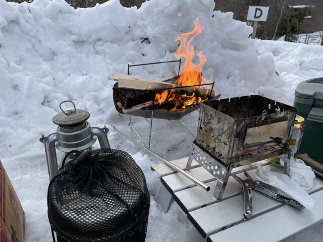 2回目の雪中キャンプ (10)
