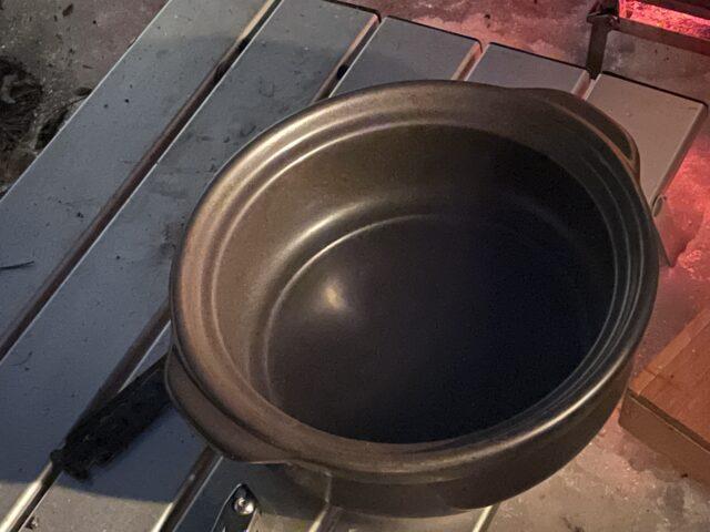 土鍋ですき焼き (6)