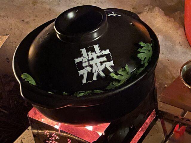 土鍋ですき焼き (16)