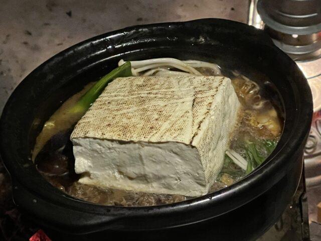 土鍋ですき焼き (28)