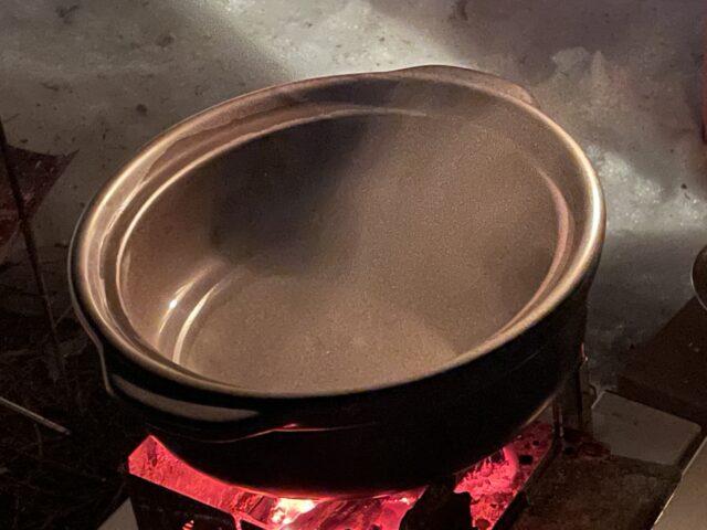 土鍋ですき焼き (9)