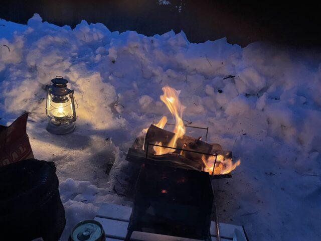 2回目の雪中キャンプ (17)
