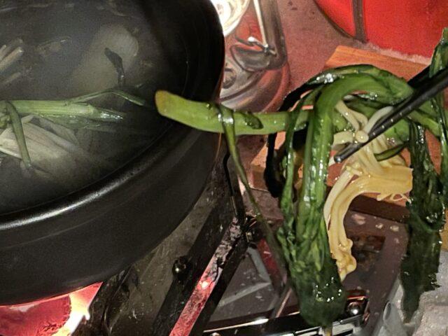 土鍋ですき焼き (25)