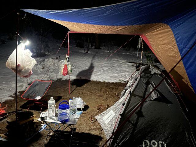 キャンプ連泊初日 (2)