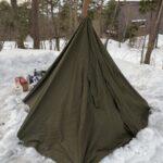2回目の雪中ソロキャンプ