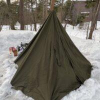 雪中キャンプはサイト選びが重要!?失敗から学んだ場所選び!