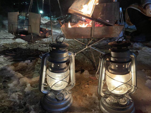 キャンプ2連泊2日目