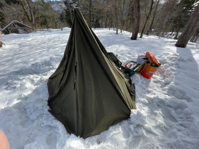2回目の雪中キャンプ (3)