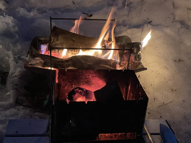 土鍋ですき焼き (2)