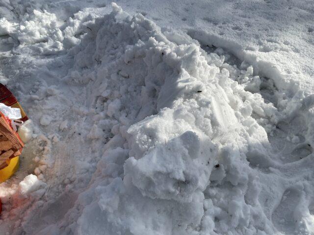 雪のリフレクター (1)