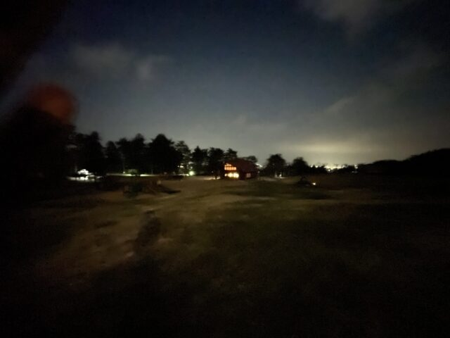 静かなキャンプ場 (1)
