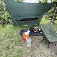 梅雨入り!雨のソロキャンプでDDハンモック泊を敢行してきた!
