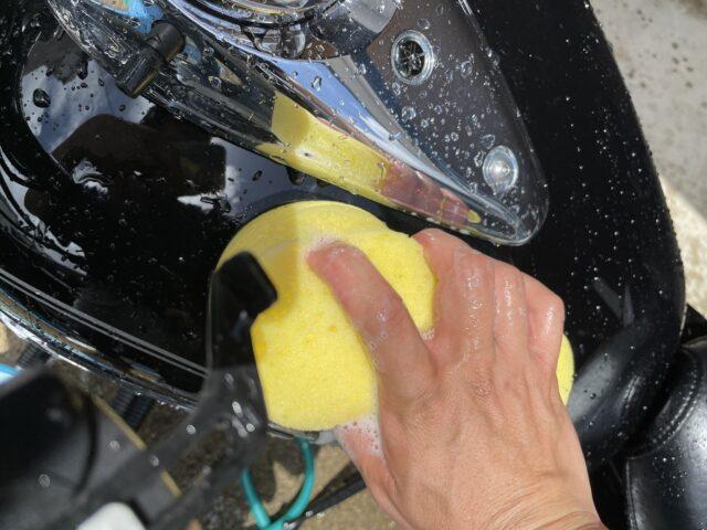 バイク洗車 (19)