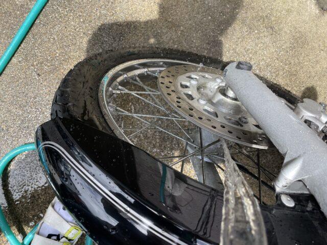 バイク洗車 (15)